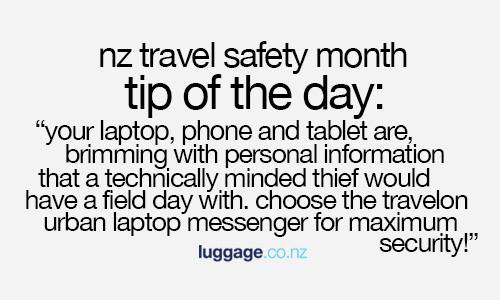 Secure Travel Tips - 23