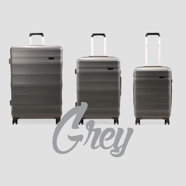 Luna-Air - Explorer Luggage - Grey