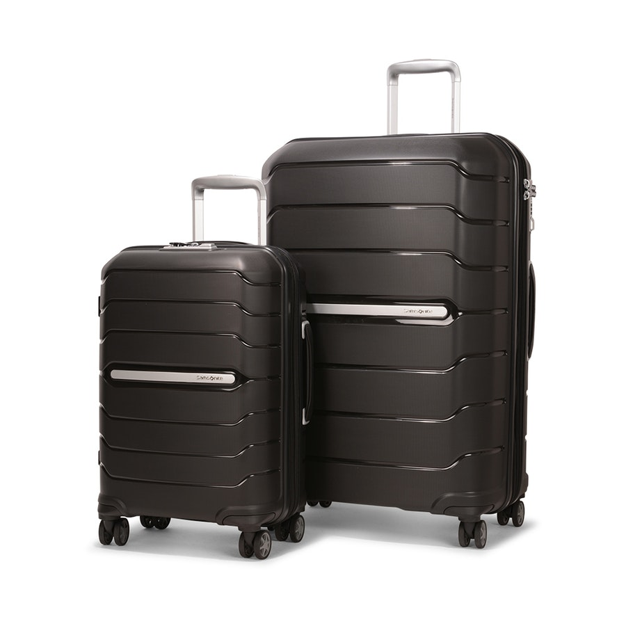 Samsonite Oc2lite 55cm & 75cm Hardside Luggage Set Black - Top Travel Products of 2019