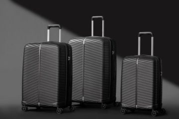 Black Samsonite Varro Suitcase