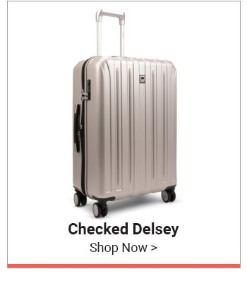 Shop Checked Delsey Luggage